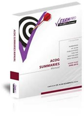 ACOG SUMMARIES MANUAL